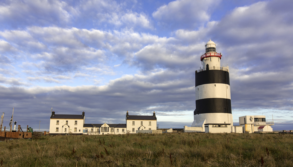 Hook Head Lighthouse and Hook Church