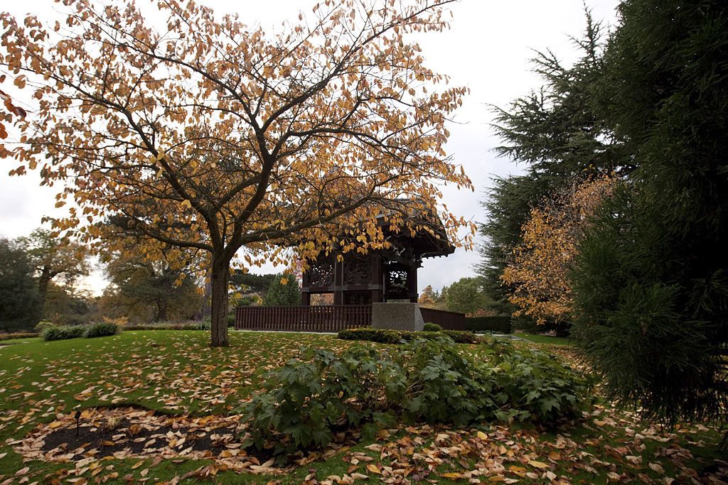 Kew gardens japanese gateway pagoda botanic garden for Garden gateway