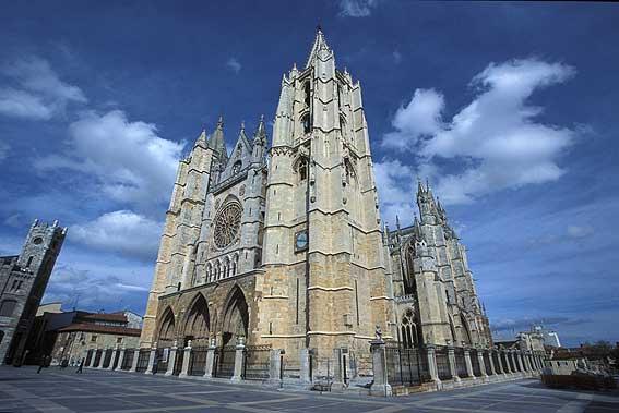 fotos catedral leon: