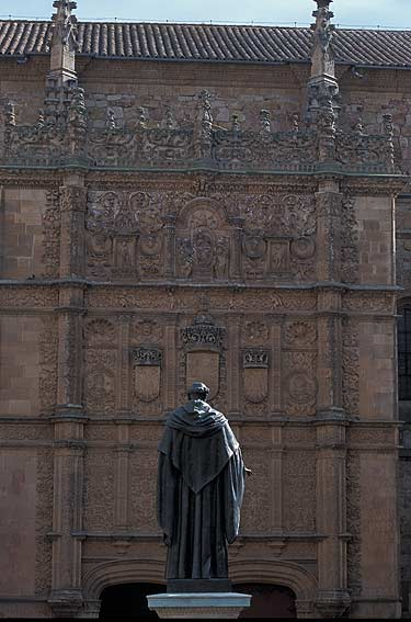Patio de las escuelas. Salamanca pictures. Photography ...