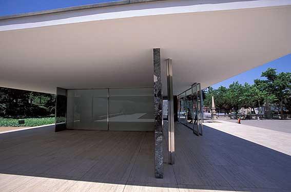 pavilion mies van der rohe pictures  fotos del pavell u00f3