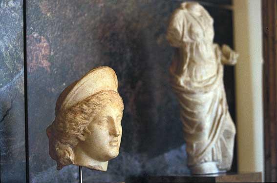 Archaeological Museum pictures. Fotos del Museo Archeológico de Tarragona , M...
