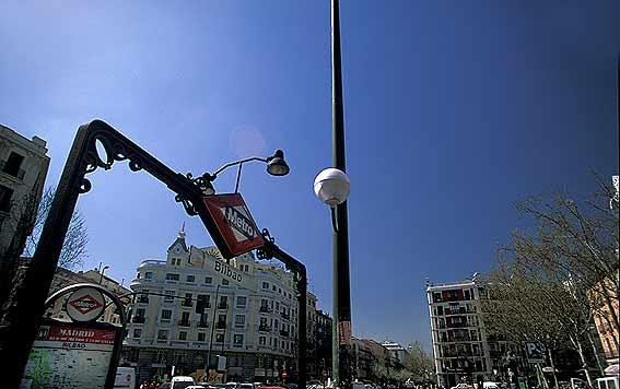 Madrid pictures fotos de madrid cibeles puerta de for Puerta 8 bernabeu
