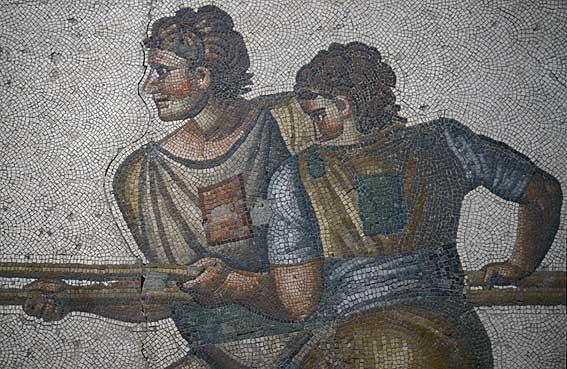 Museum Mosaics Istanbul Istanbul Archaeology Museum